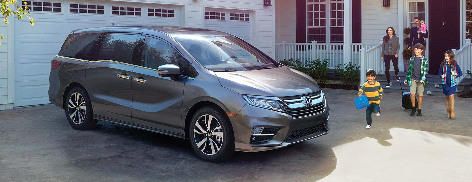 The 2018 Honda Odyssey — The Minivan Redefined & Redesigned