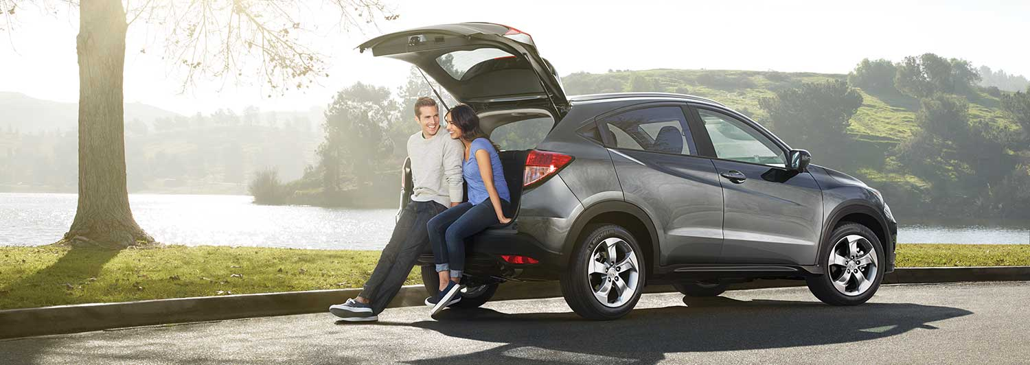 The 2018 Honda HR-V: Bigger Inside Than Outside.
