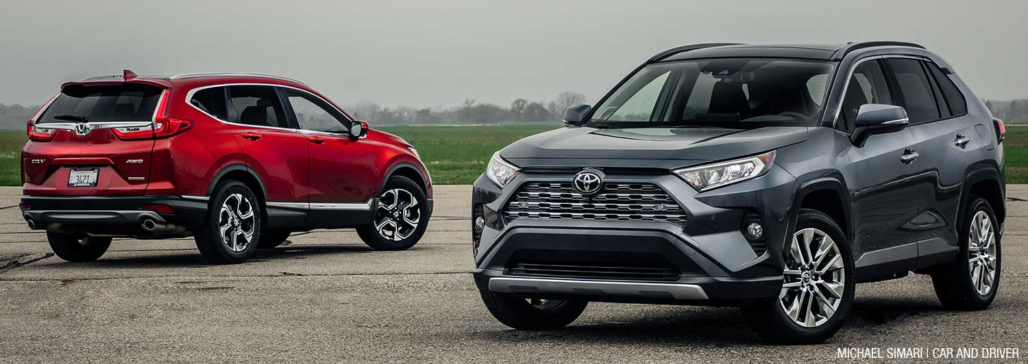 Honda CR-V vs Toyota RAV4 — Which one's better?