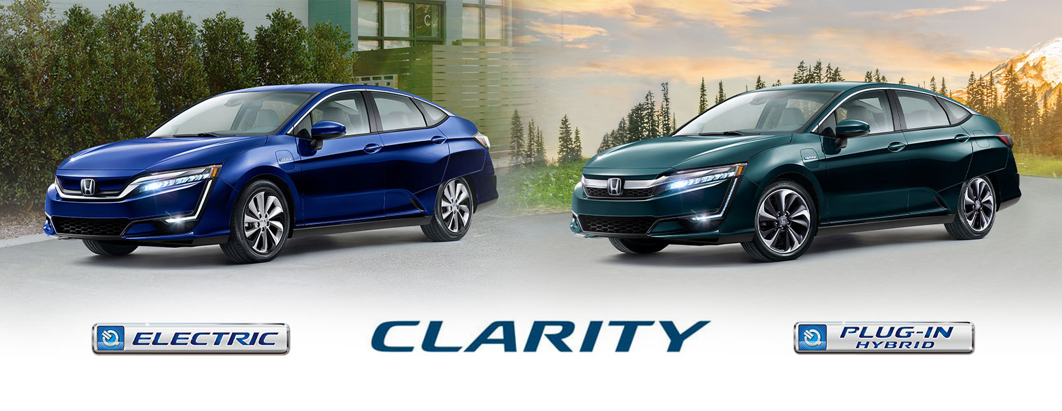 Honda Clarity Plug-In and Clarity Electric Unveiled
