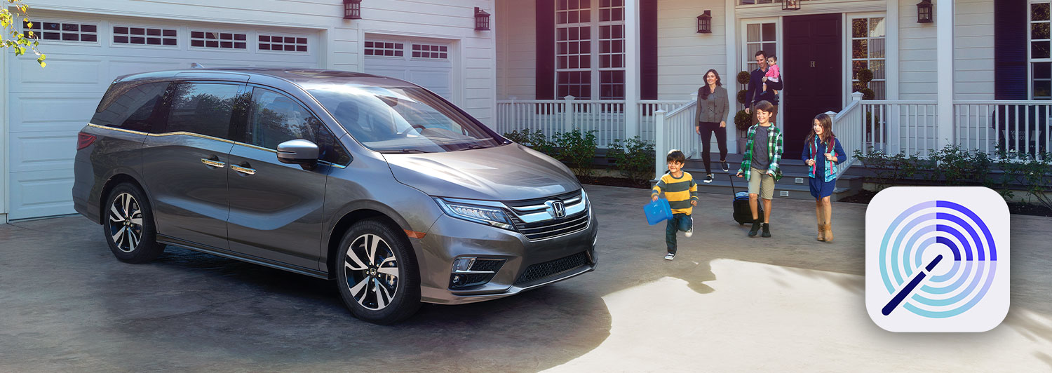 The Honda CabinControl App for Honda Odyssey