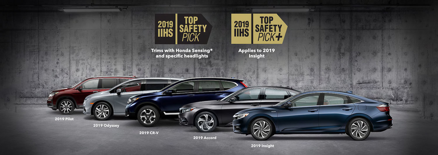 Honda Vehicle Safety Earns Top Marks