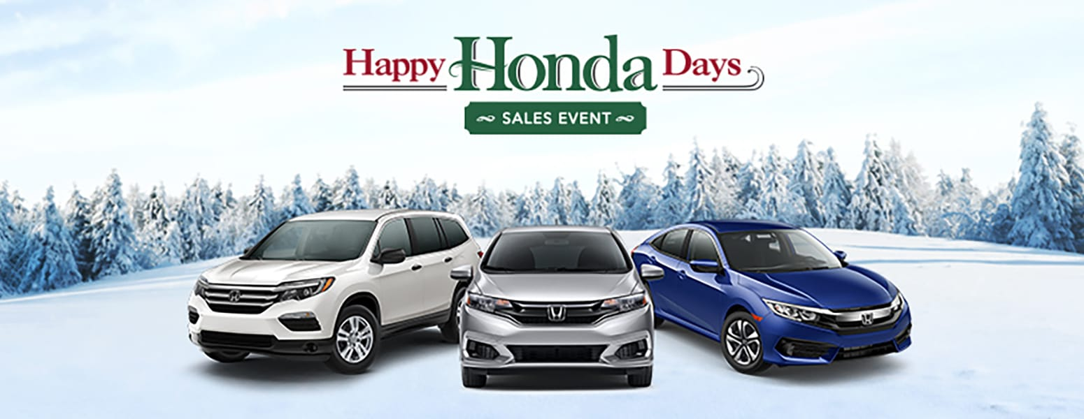 Happy Honda Days Have Arrived at Dublin Honda!